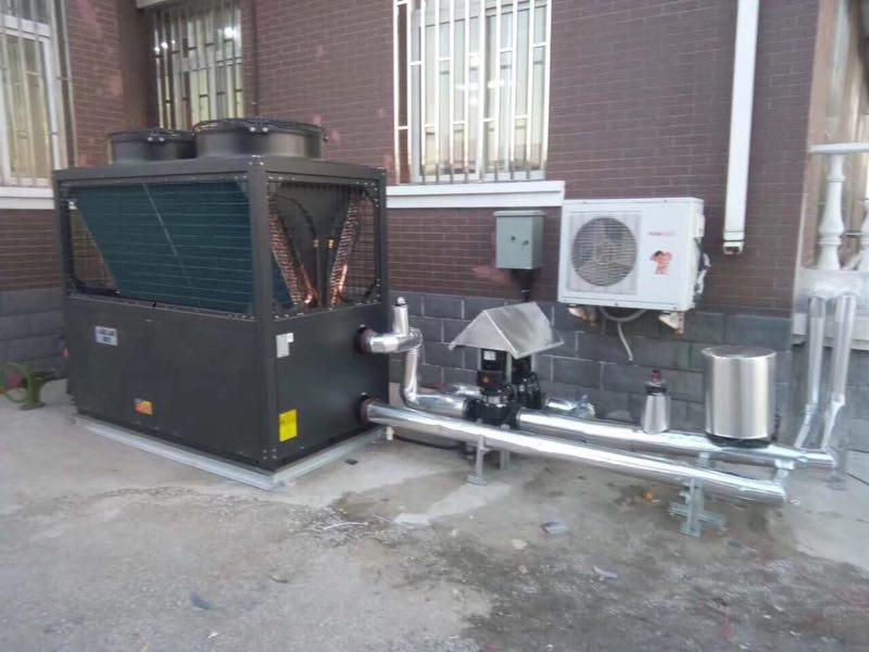 空气源热泵制热水取暖 (2)